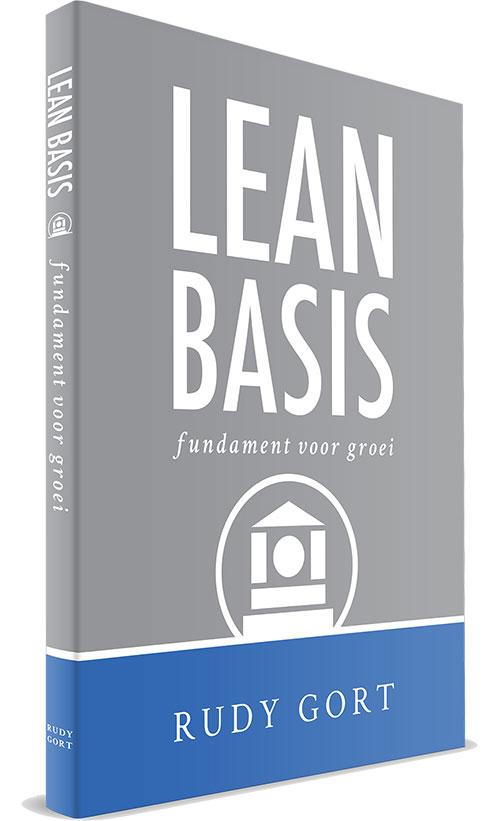 Boekcover - Lean basis (voorkant)