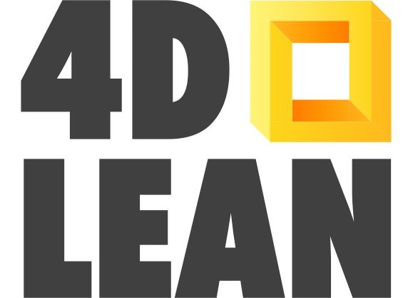 4D Lean logo - Jim Lippens - 4D Lean event