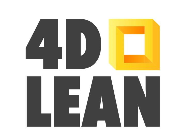 logo 4D Lean | Jim Lippens
