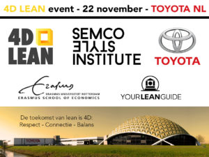 4D Lean event Toyota poster logos