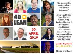 4D Lean event bij Toyota | 10 april 2019