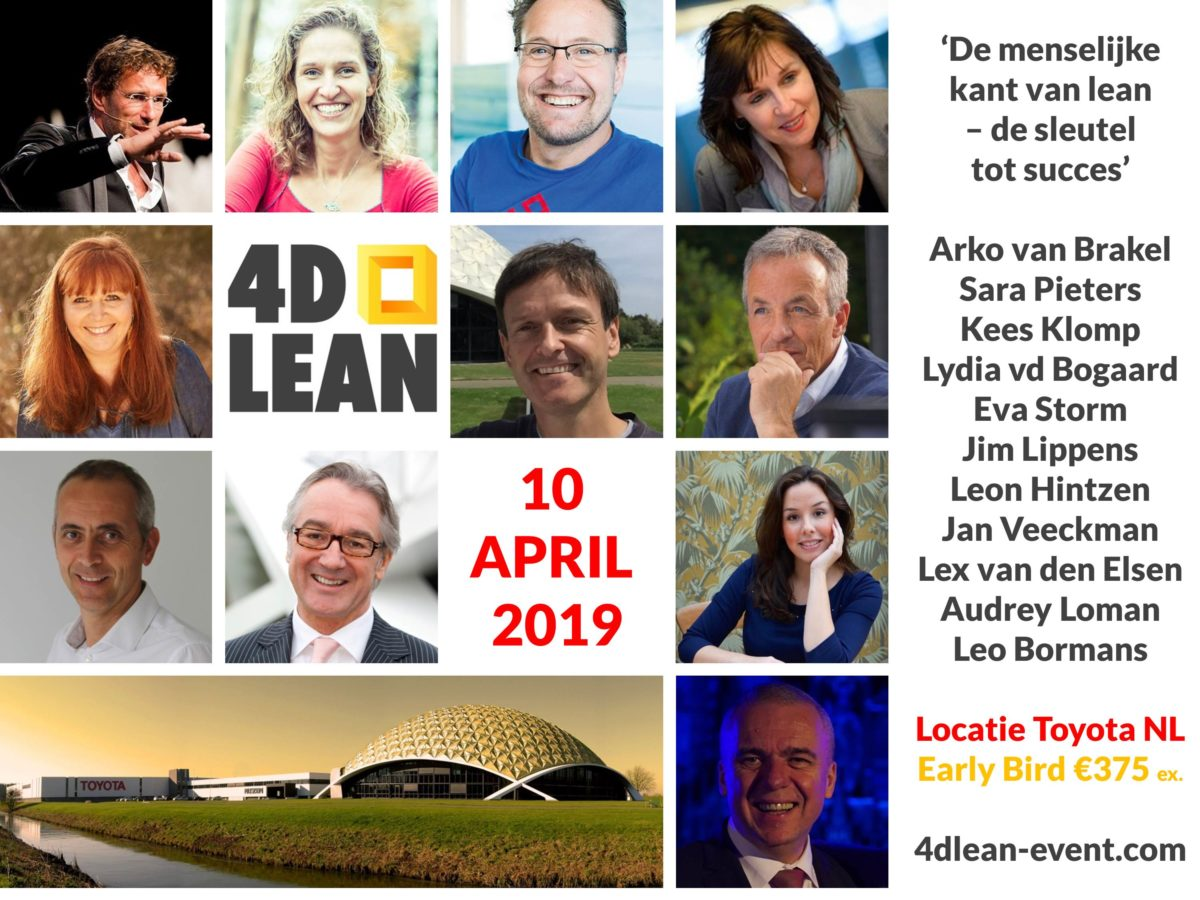 4D Lean event bij Toyota   10 april 2019
