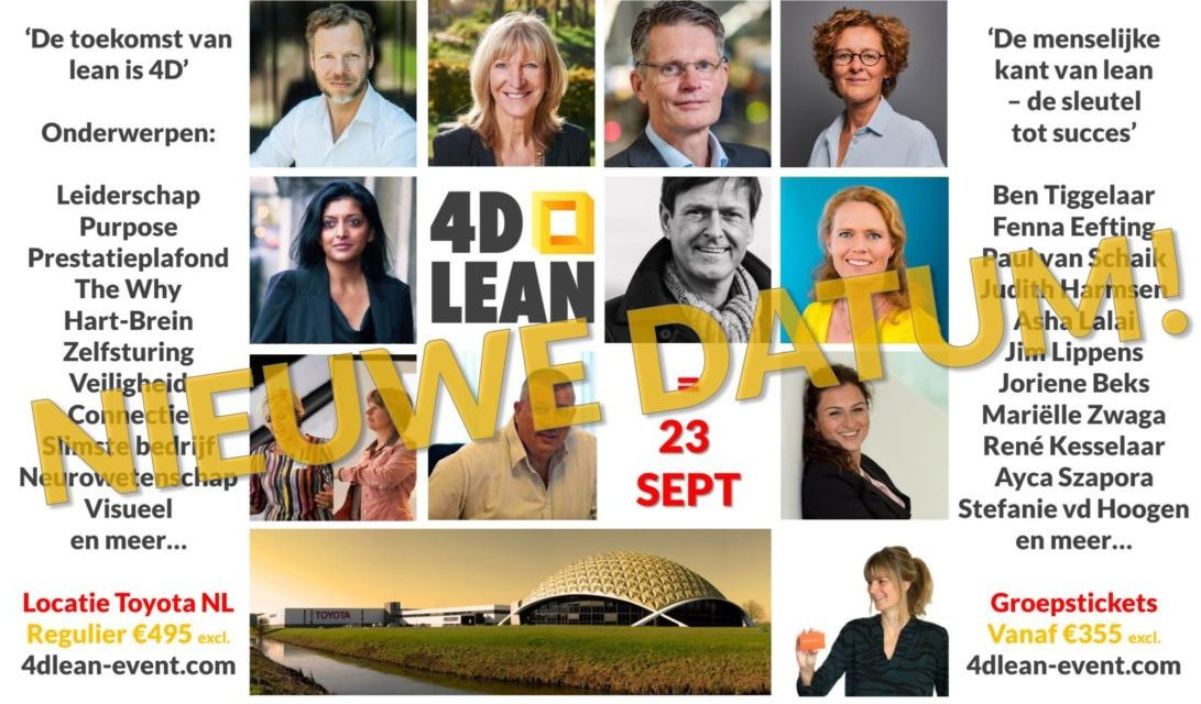 4D Lean event - 16 april 2020 - Toyota NL