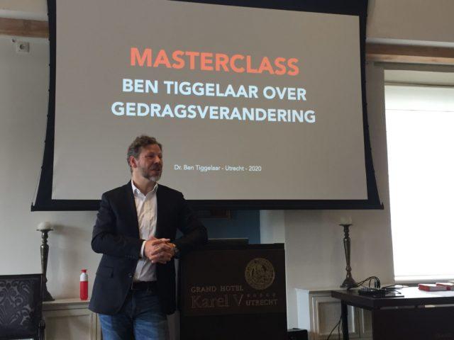 Gedragsverandering: lessen van Ben Tiggelaar