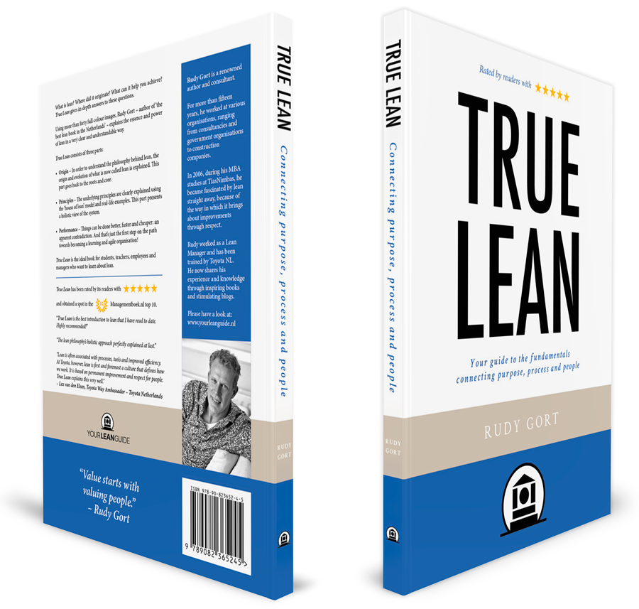 True Lean - Connecting Purpose, Process, People - 3D cover